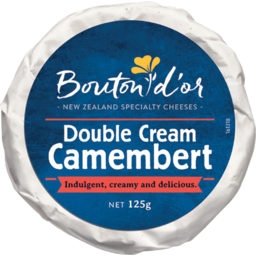 Photo of Bouton D'or Camembert Double Cream 125g