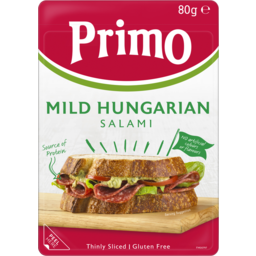 Photo of Primo Thinly Sliced Hungarian Mild Salami 80g