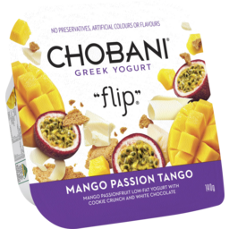 Photo of Chobani Greek Yogurt Flip Mango Passion Tango 140gm