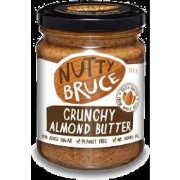 Photo of Nutty Bruce Crunchy Almond Butter 250g