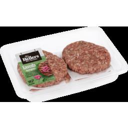 Photo of Hellers Burgers Lamb 4 Pack