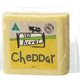 Photo of 180 Acres Cheddar 200gm