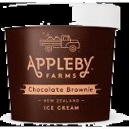 Photo of APPLEBY FARM ICE CREAM CHOCALATE  BROWNIE 470ML