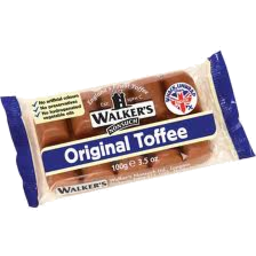 Photo of Walkers Original Toffee 100g