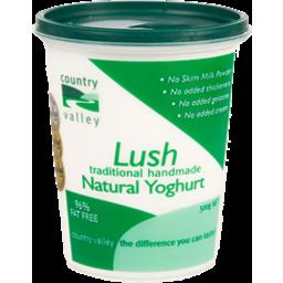 Photo of Country Valley Natural Yogurt 500g