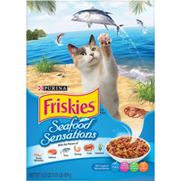 Photo of Friskies Cats Ocean Fish