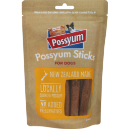 Photo of Chunky Possyum Sticks for Dogs 6 Pcs