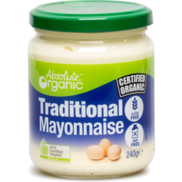 Photo of Absolute Organic Mayonnaise (Traditional)