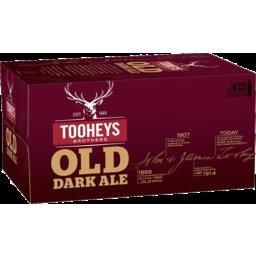 Photo of Tooheys Old Dark Ale Bottle 375ml 24 Pack