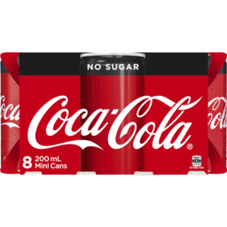 Photo of Coca-Cola No Sugar 8pk
