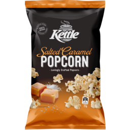 Photo of Kettle Chip Company Corn Snacks Kettle Popcorn Salted Caramel 25g 25g