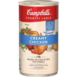 Photo of Campbell's Soup Country Ladle Creamy Chicken 500g