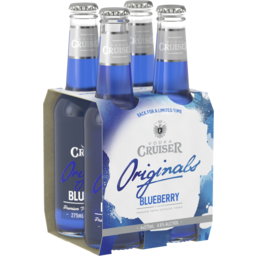 Photo of Vodka Cruiser Blueberry Bottles