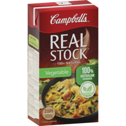 Photo of Campbells Real Stock Vegetable 500ml