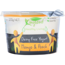 Photo of Kingland Yoghurt Peach And Mango 250g