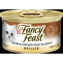 Photo of Fancy Feast Adult Gravy Lovers Grilled Liver & Chicken Feast In Gravy 85g