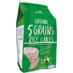 Photo of Allrite Organic 5 Grain Rice Cake 76g