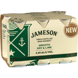 Photo of Jameson Dry & Lime Can