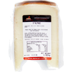 Photo of Fromart Cheese - Raw D'alpage