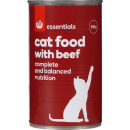 Photo of Homebrand Cat Food Beef 690g