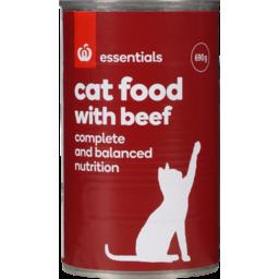 Photo of Homebrand Cat Food Beef 690g