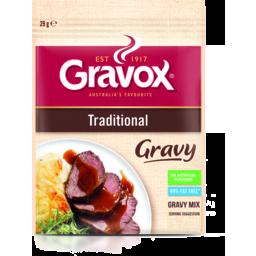 Photo of Gravox Gravy Mix Traditional Sachet 29gm