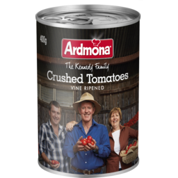 Photo of Ardmona The Kennedy Family Crushed Tomatoes Vine Ripened 400g
