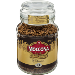 Photo of Moccona Coffee Freeze Dried Classic Dark Roast Jar 100g 100g