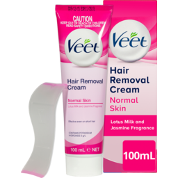 Photo of Veet Hair Removal Cream For Normal Skin Soft Silk Extract