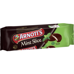 Photo of Arnott's Chocolate Biscuit Mint Slice 200g