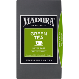 Photo of Madura Tea Bag Green Tea 50s