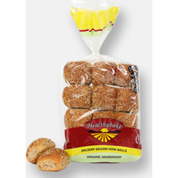 Photo of Healthybake Ancient Grains & Seed Mini Rolls (12 Pack)