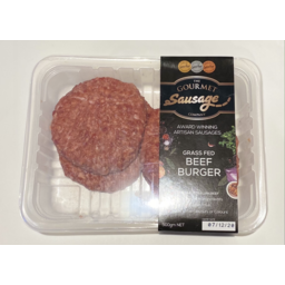 Photo of G/Sausage Beef Burger 500gm