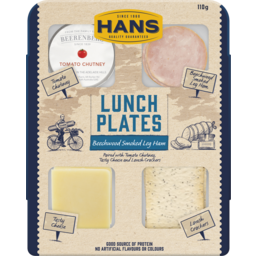 Photo of Hans Lunch Plate Smoked Ham And Tomato Chutney 110g