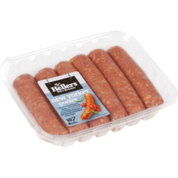 Photo of Hellers Sausages New Yorker Porker 6 Pack