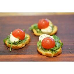 Photo of Canape Pesto, Cherry Tomato & Mozzarella Vegetarian