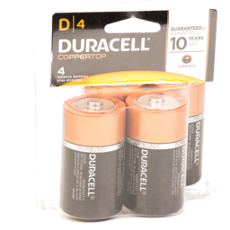 Photo of Duracell D Size Batteries