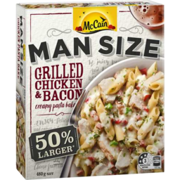 Photo of McCain Man Size Grilled Chicken And Bacon 480gm