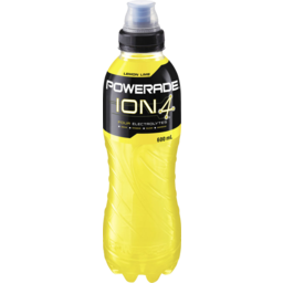 Photo of Powerade Ion4 Lemon Lime Sports Drink Sipper Cap 600ml