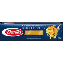 Photo of Barilla Pasta No7 Spagh 500gm