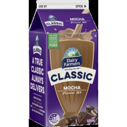 Photo of Dairy Farmers Df Classic Mocha Flvoured Milk 600ml Carton Sa