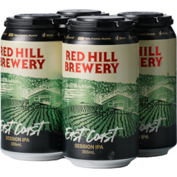 Photo of Red Hill Brewery East Coast 4 Pack
