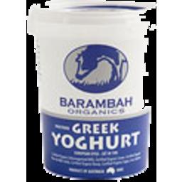 Photo of Barambah - Greek Yoghurt - 500g