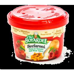 Photo of Chef Boyardee Beefaroni Bowl