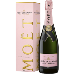 Photo of Moët & Chandon Rosé Impérial (Gift Box)