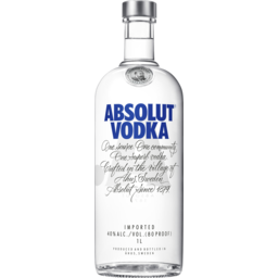Photo of Absolut Vodka 1l