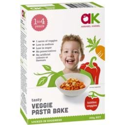 Photo of Annabel Karmel Tasty Veggie Pasta Bake 200gm