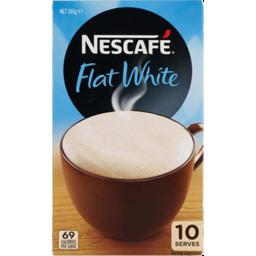 Photo of Nescafe Cafe Menu Flat White 10 Pack