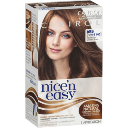 Photo of Clairol Nice 'N Easy 6rb Natural Light Chestnut Brown