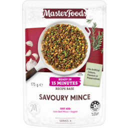 Photo of Masterfoods™ Savoury Mince Ready In 15 Minutes Recipe Base 175g